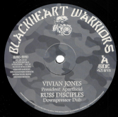 Vivian Jones - President Apartheid (Blackheart Warriors) US 10""